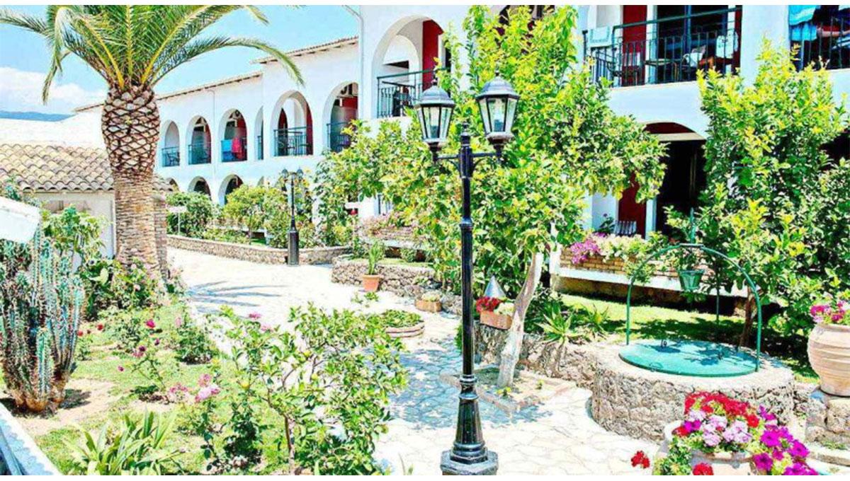 Hotel in Corfu