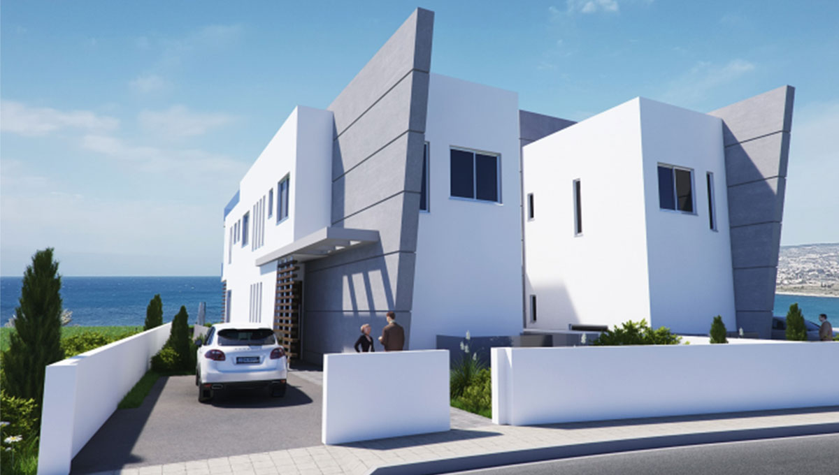 Seafront Villas in Paphos (Multiple Options)