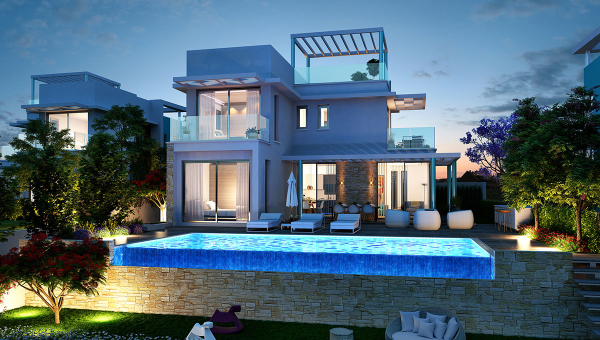 3-Bedroom Villa in Protaras