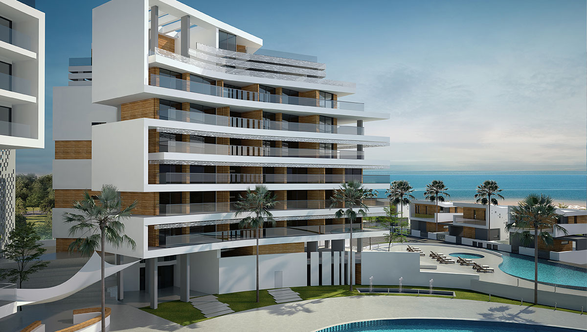 Luxurious Spa Resort & Residences  in Ayia Napa (Multiple Options – Apartments)