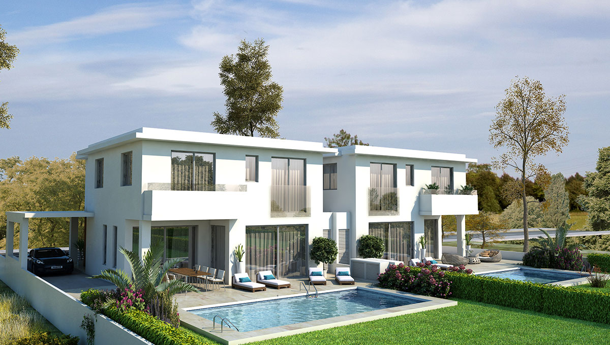 Luxurious Villas in Pyla (Multiple Options)