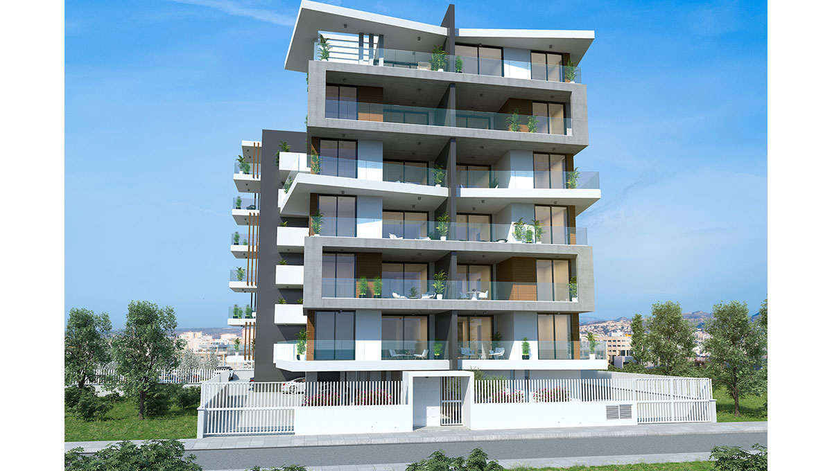 City Apartments in Limassol (Multiple Options)