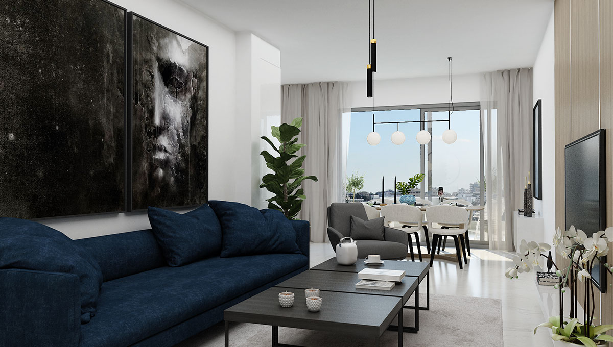 1 & 2-Bedroom Luxury Apartments in Larnaca
