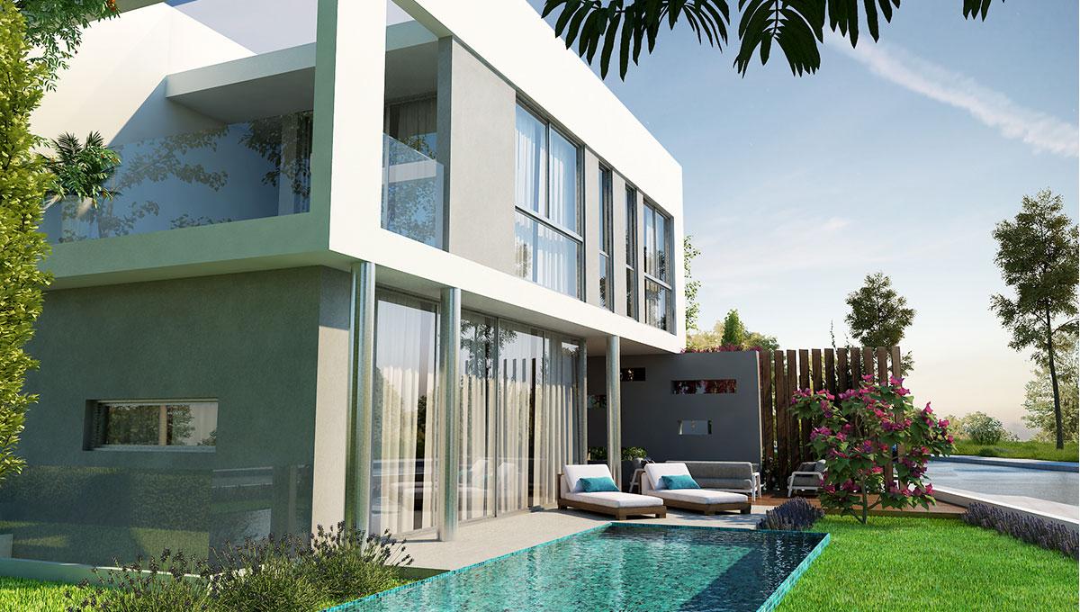 3-Bedroom Villa in Pernera
