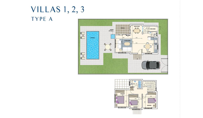 Villas 1, 2, 3